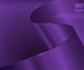 Purple dynamic background vector