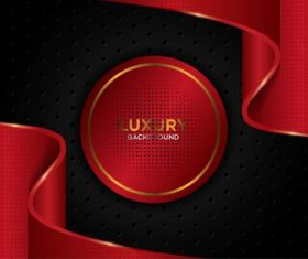 Red dynamic background vector