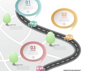 Traffic information background vector