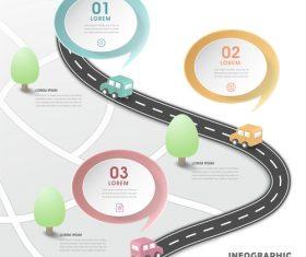 Traffic information background vector