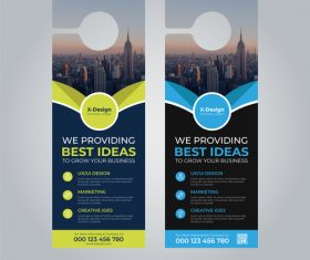 We provide the best idea business flyer vector