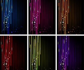 Abstract colorful raster background vector