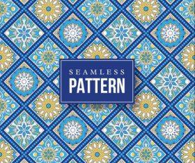 Beautiful hand drawn mandala seamless pattern vector