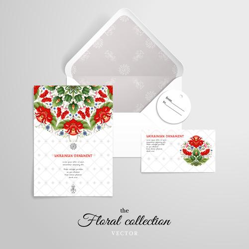 Beautiful invitation vector