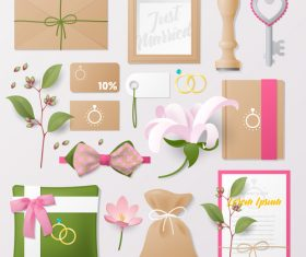 Beautiful packaging business template with logo design vector