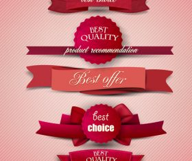 Best choice label sticker vector