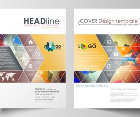 Brochure flyer vector