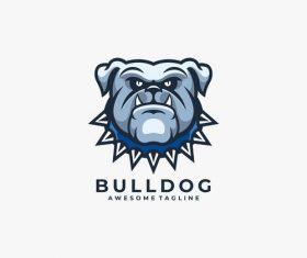 Bulldog logos vector