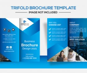 Business image brochure design vector