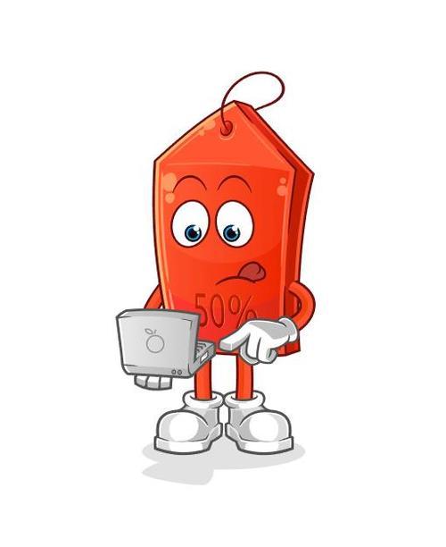 Cartoon mascot icon vector