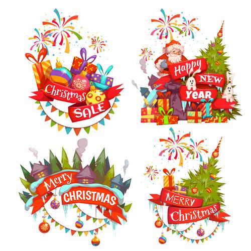 Celebrate christmas vector