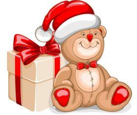 Childrens favorite christmas gift vector