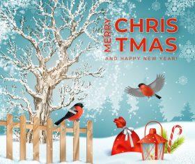 Christmas beautiful illustration vector