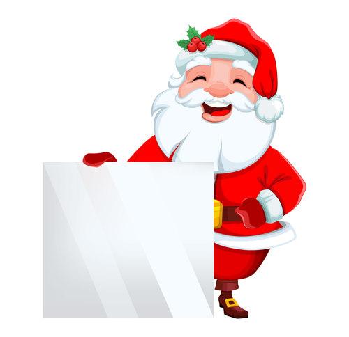 Christmas cartoon illustration vector