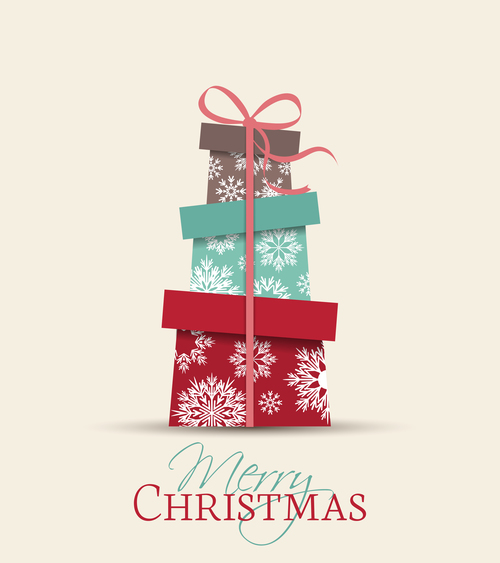 Christmas gifts purchased vector