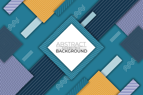 Color geometric abstract geometric vector background style