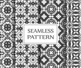 Decorative style baroque seamless background pattern vector