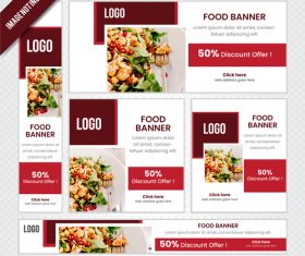 Design restaurant poster vector