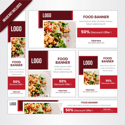 Design restaurant poster vector