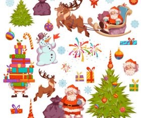 Element collection christmas vector