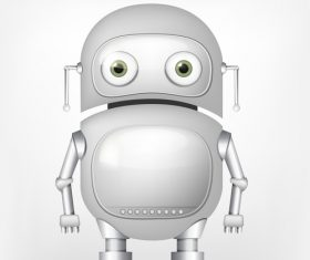 Fat robot vector