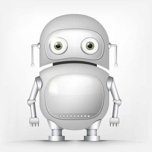 Fat robot vector