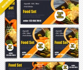 Food set vector