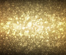 Gold virtual highlights abstract background vector