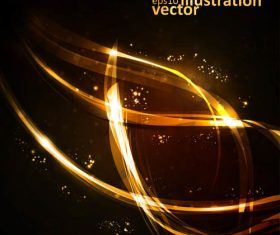 Golden illustration vector