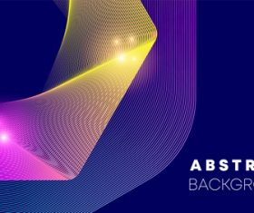 Gradient arc abstract background vector