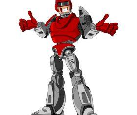 Highly intelligent robot vector