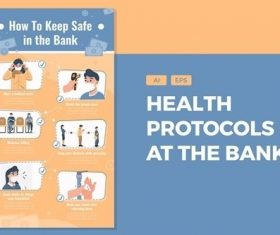 How To Keep Safe In The Bank vector