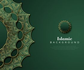 Islamic vector background