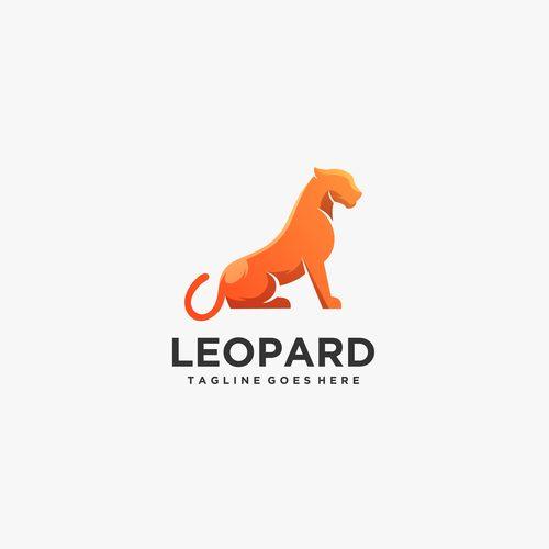 Leopard logos vector