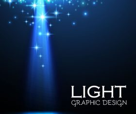 Light graphic design vector