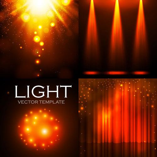 Lighting effect vector
