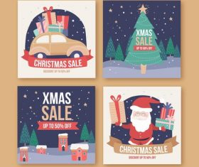 Limited time promotion christmas gift vector