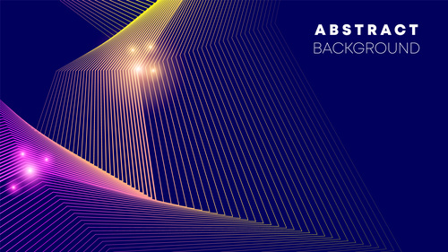 Line abstract background vector