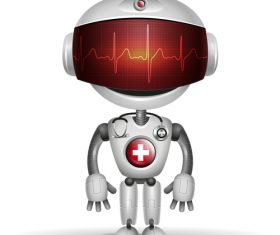 Medical robot vector