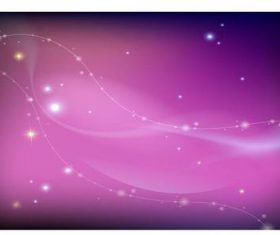 Pink space background vector