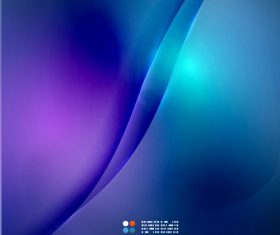 Purple blue gradient color abstract background vector