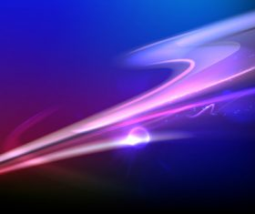 Purple rays abstract background vector