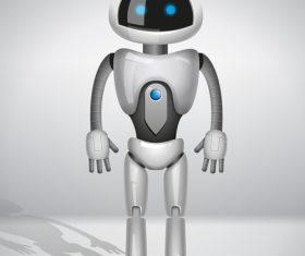 Service robot vector