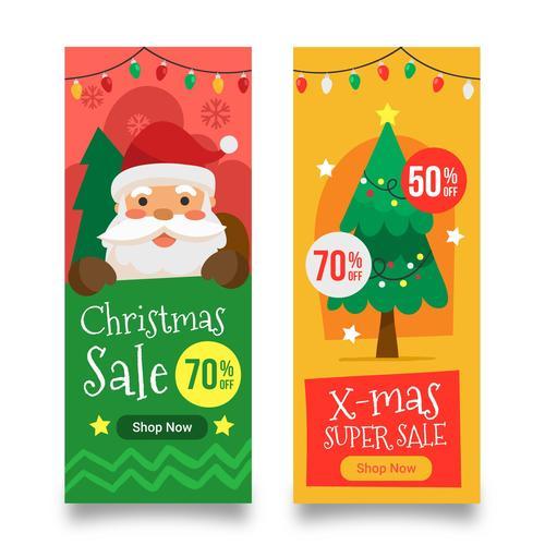 Shop now Christmas super sale vector