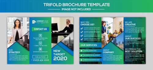 Start Business brochure vector