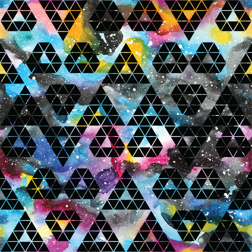 Triangle color abstract background vector