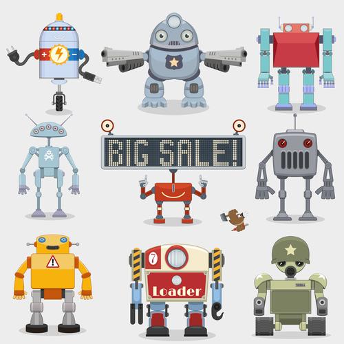 Various function robot vector