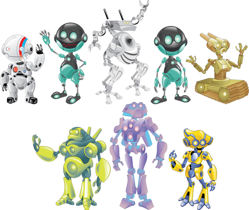 Various robot vector