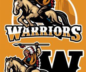Warriors vector
