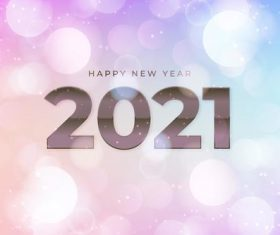 2021 two-color blurred new year background vector